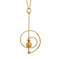 C5 Saturn Necklace