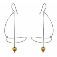 G4 Saturn earrings