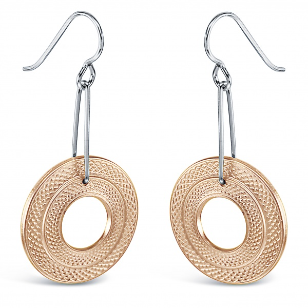 K6 Earrings (Rose Gold)