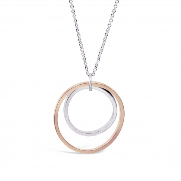 V6 Necklace (Rose Gold)