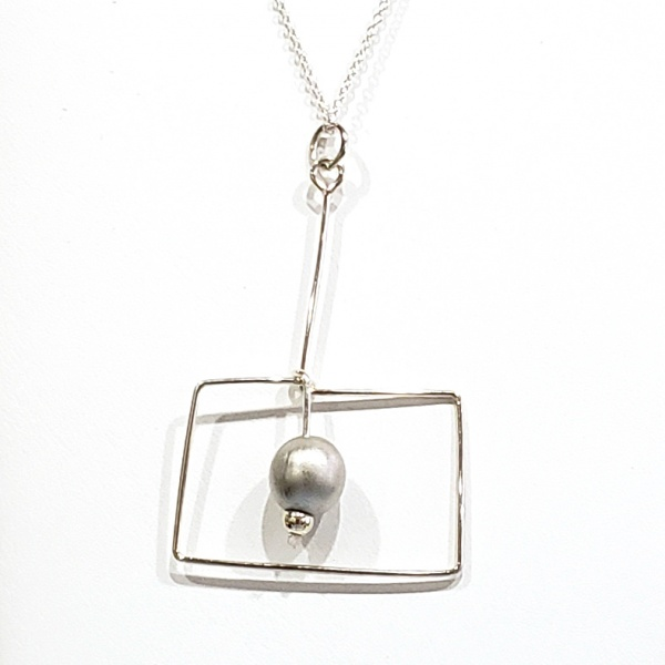 A3 Necklace - Silver