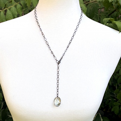 Green Crystal Necklace