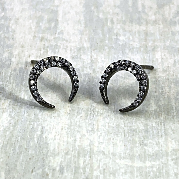 Black Crescent Stud 2020