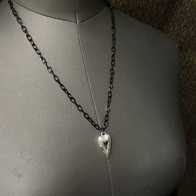 Chunky Heart Necklace 3261