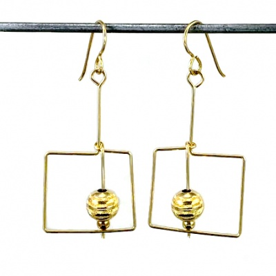 A3 Saturn Earrings