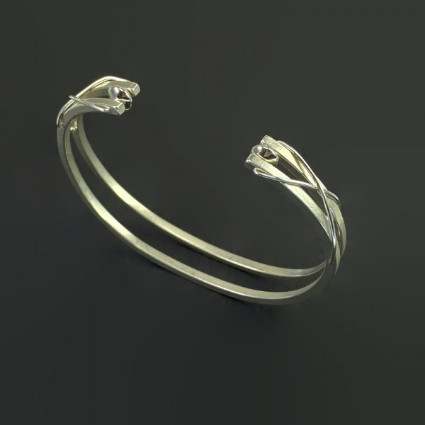 Double Sterling Cuff 3987