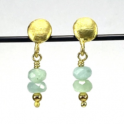 Amazonite earrings 5258