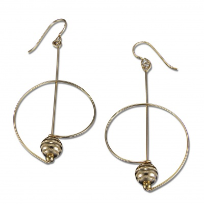A6 Saturn Earring