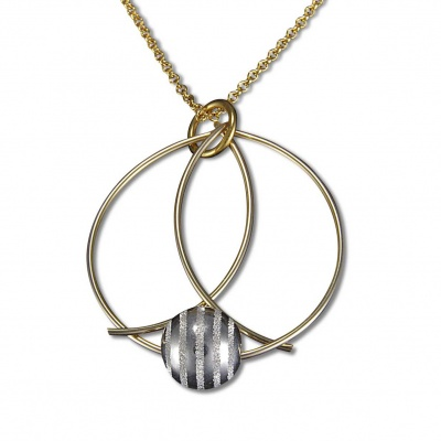 BJ Saturn Necklace