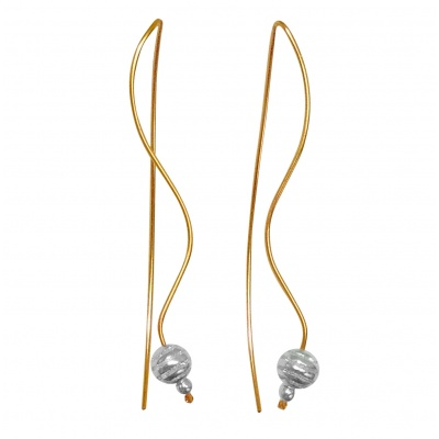 F6 Saturn Earrings