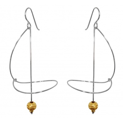 G4 Saturn earrings