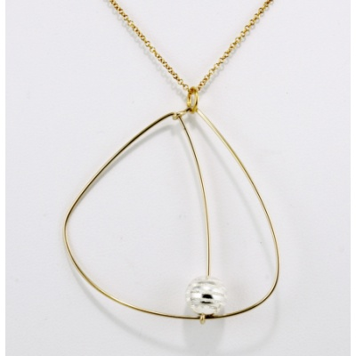 L4 Saturn Necklace