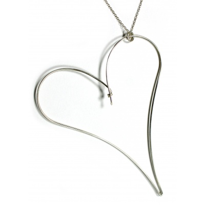 Heart Outline Necklace